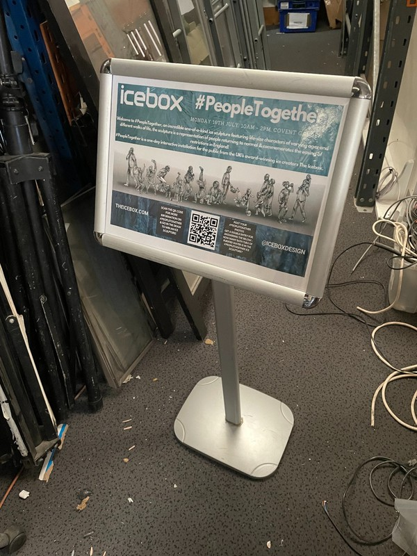 signage stands for sale