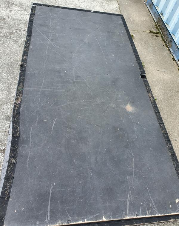 Used steel stage decking