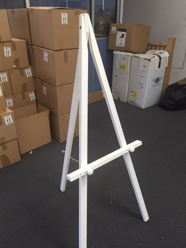white easel for sale