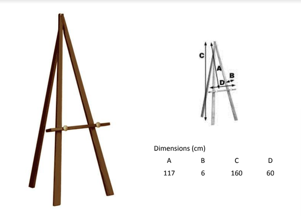 wooden easels for sale