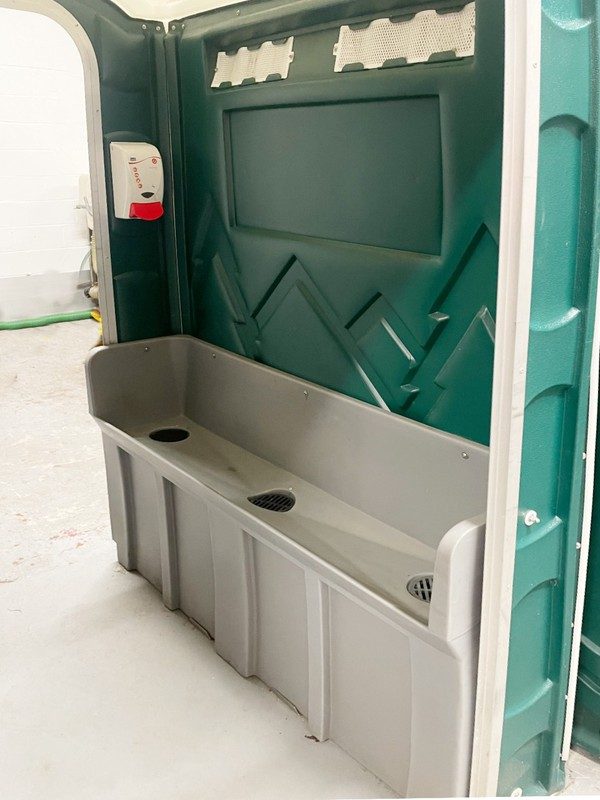 6 Man urinal unit for sale