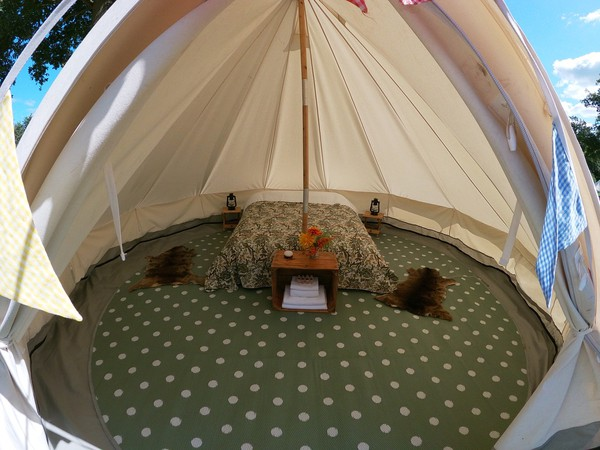 Used glamping package