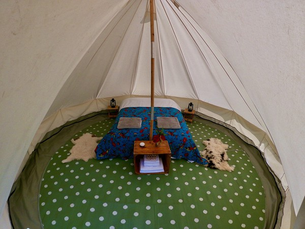 4.5m bell tents for sale
