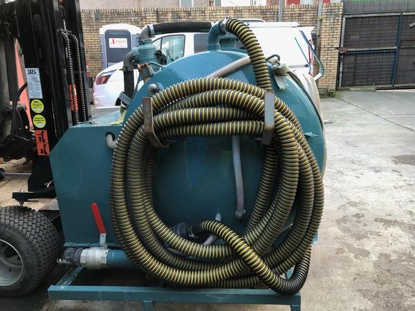 Rapide vacuum tanker