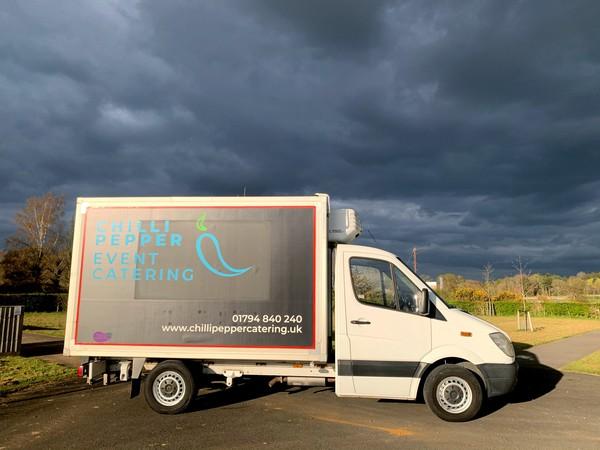Mercedes Fridge box van for sale