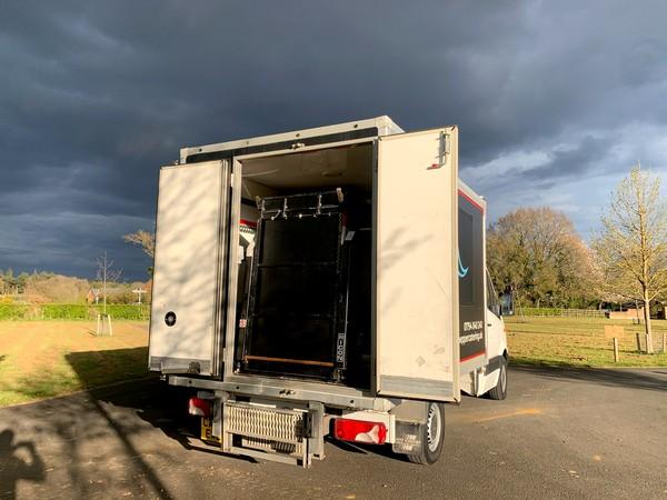 Fridge box van for sale