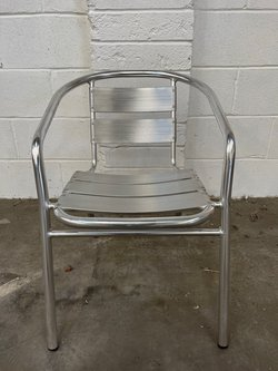Aluminium outdoor chairs