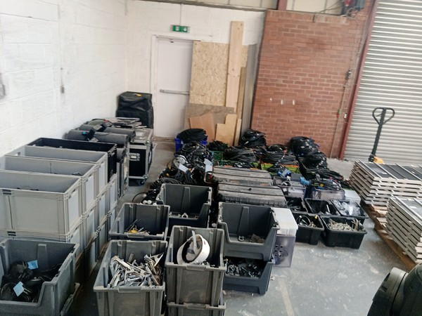 event prop and lighting equipment for sale