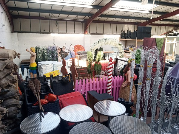 Event Prop And Lighting Hire Company For Sale