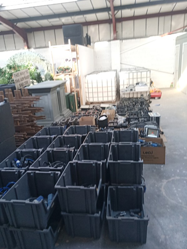lighting hire company for sale