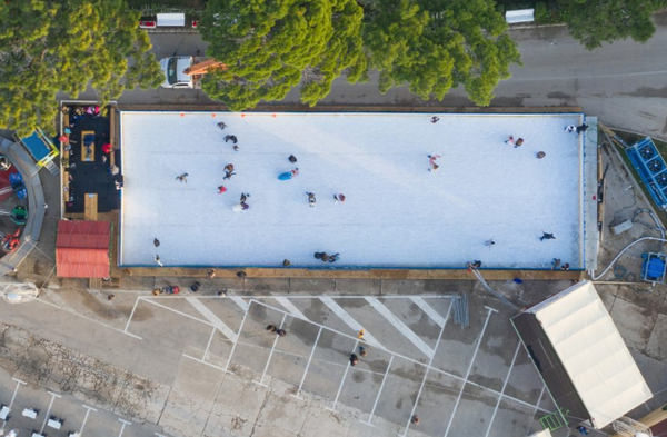 Mobile real ice rink for sale