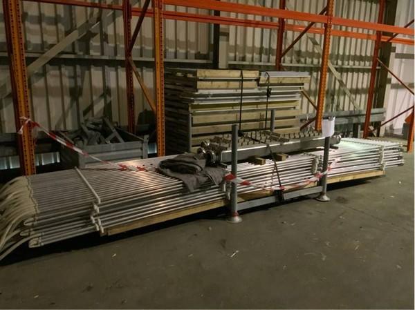 Complete curling track 45 m² cooling system