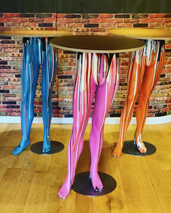 Mannequin Poser Cocktail Tables