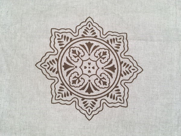 Indian Block Print lining