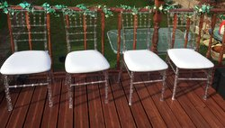 Ghost Chiavari chairs for sale