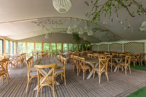 Out door dining marquee