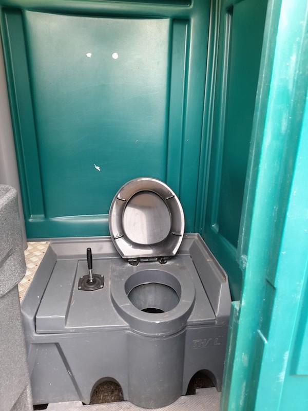 Green Portable Loos