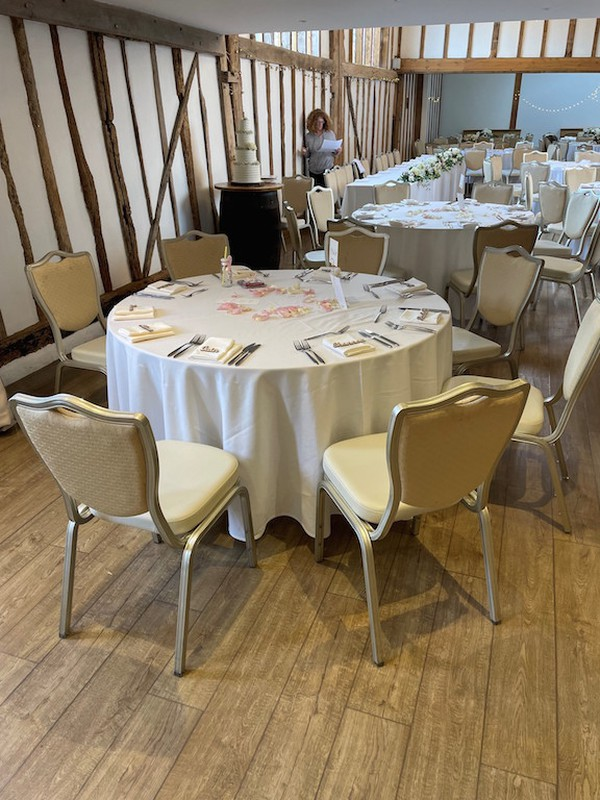 Neutral Banqueting Chairs for sale