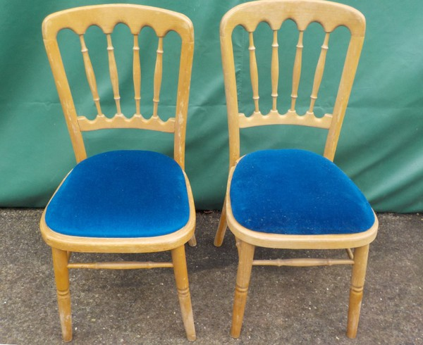 Natural Wood Banqueting Chairs - Cheltenham Style