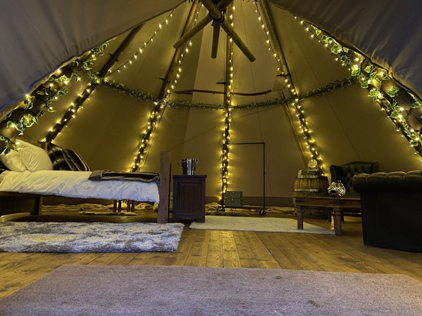 Glamping Tipi for sale