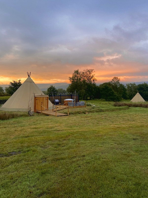 Used Glamping Tipi for sale