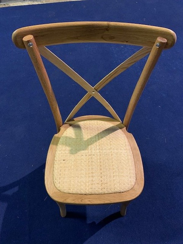Cross backed chairs for sale