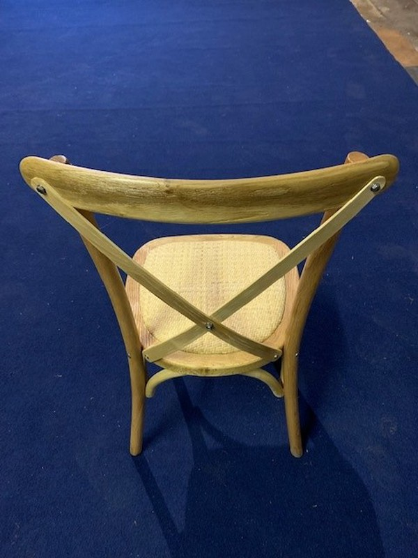 Secondhand cross backed chairs