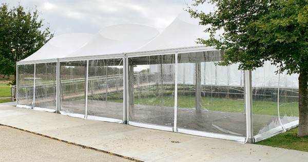 5m x 15m Show stand for sale