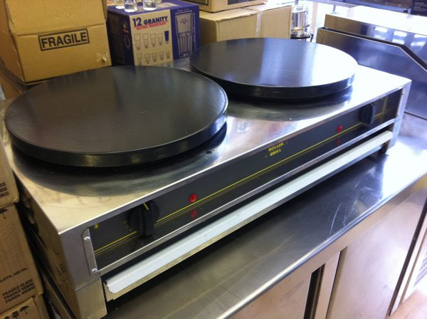 Used Roller Grill 400 ED Crepe Machine