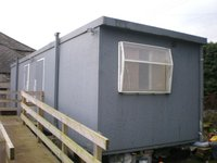 Toilet and Shower Block 9.8m x 2.9m Jack Legged
