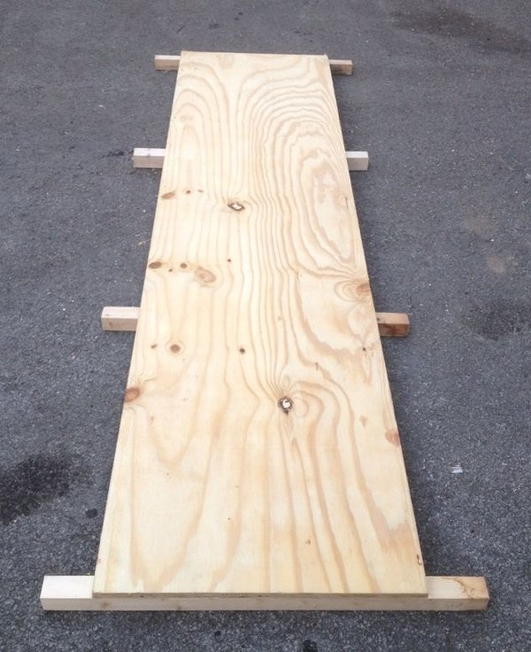 wooden floor 2ft x 8ft Boards