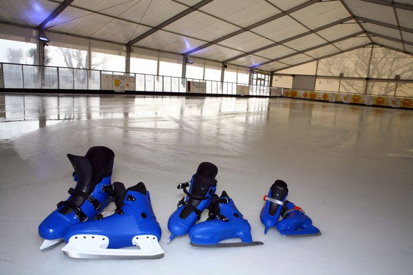Real Ice rink hire bussines