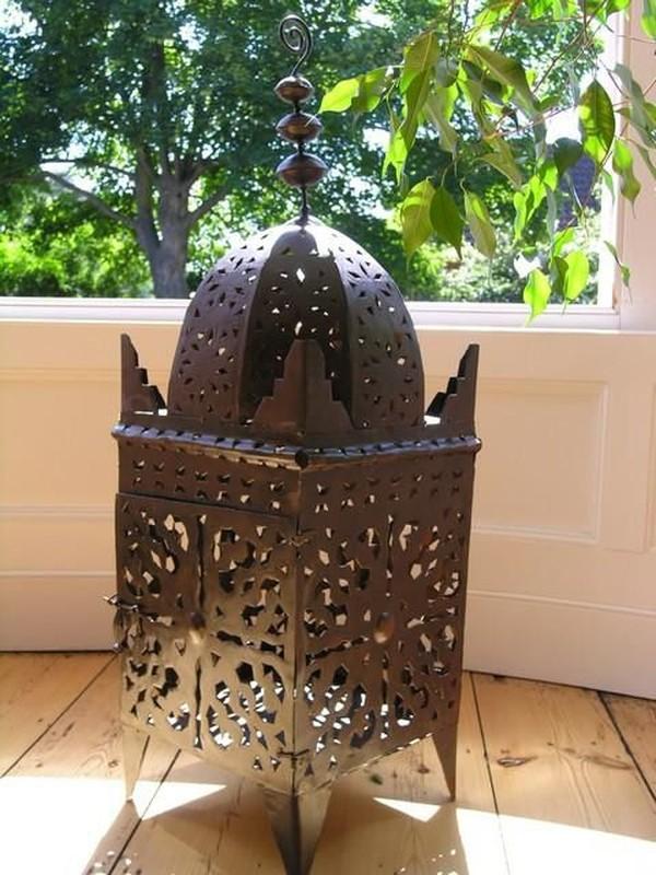 indian iron lanterns
