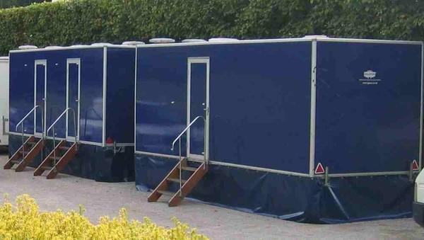 Used Wedding toilet trailer