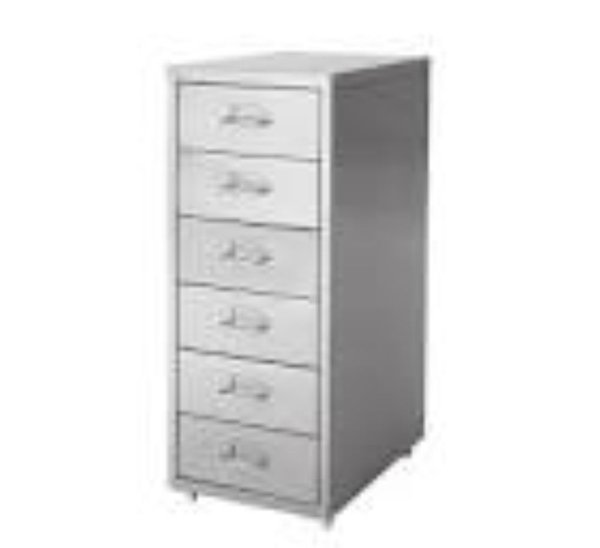 6 drawer office unit