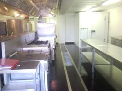 3 Bay Temporary Modular Kitchen Unit For Sale