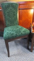 Green chancery dining chair