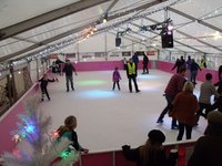 Complete Real Ice Rink Package