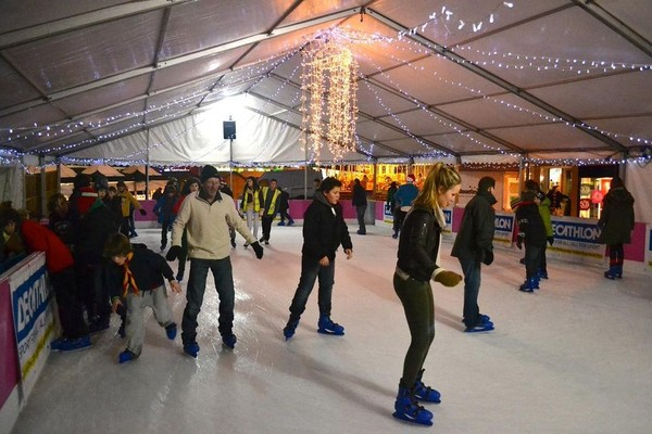 Ice Rink capacity of 75 skaters for sale