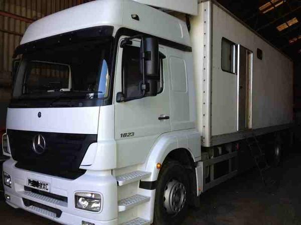 Mercedes show truck