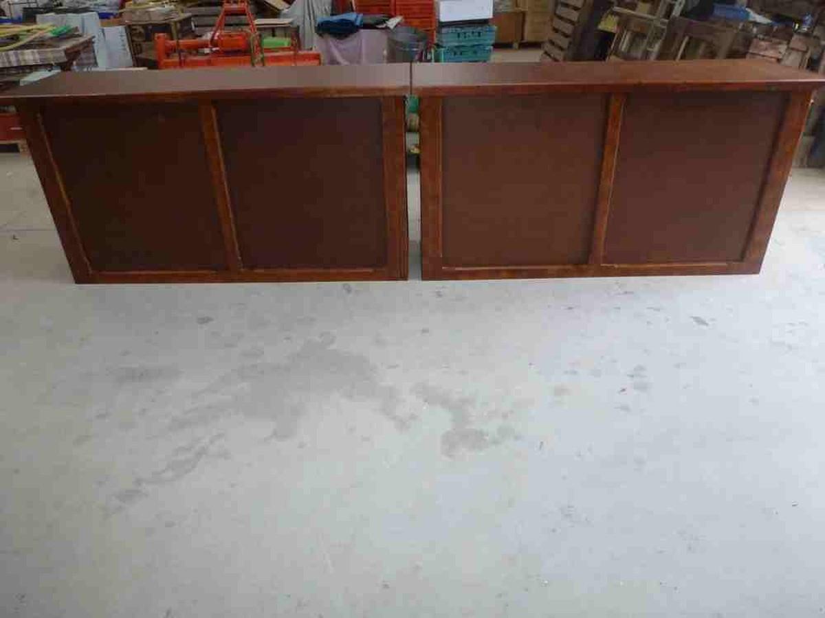 Secondhand Pub Equipment Mobile Bar Units 2x Varnished