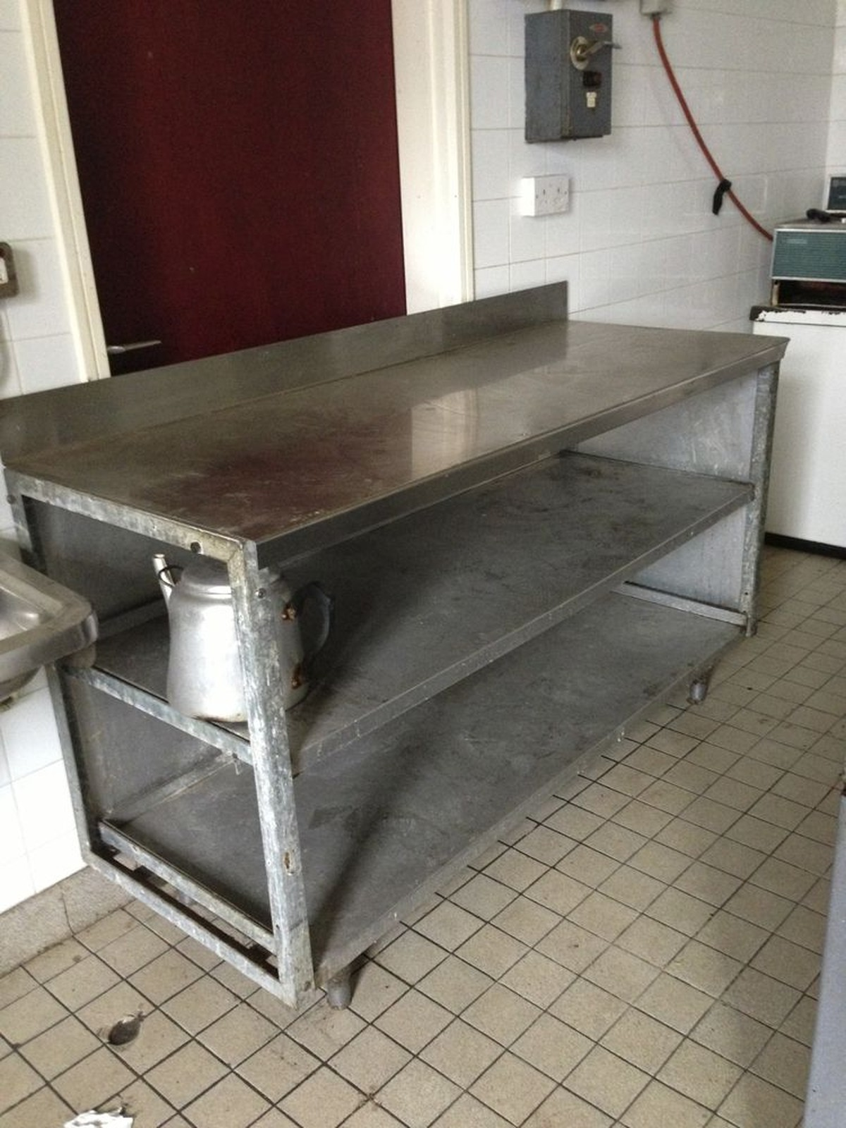 secondhand catering equipment stainless steel tables 1 01m to 2m