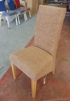 40 x Mushroom Fabric Restaurant chairs