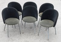 Black Round Back Chairs