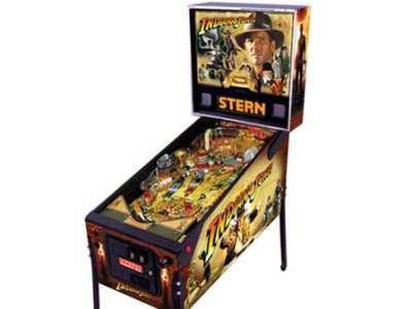Indiana Jones Pinball Arcade Machine