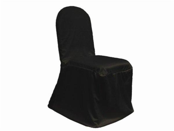 Black scuba chair cover