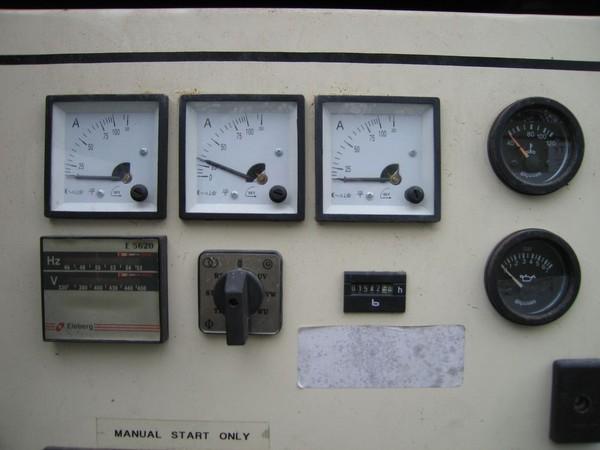 Buy Used 40kva Generator Aksa Trailer Mounted 3 phase Diesel