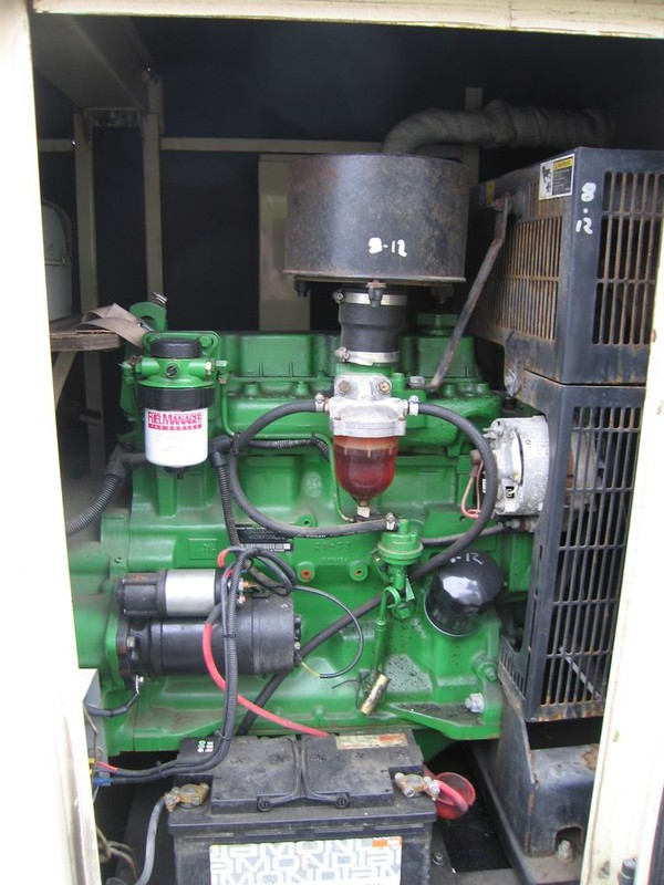 Second Hand 40kva Generator Aksa Trailer Mounted 3 phase Diesel  for sale