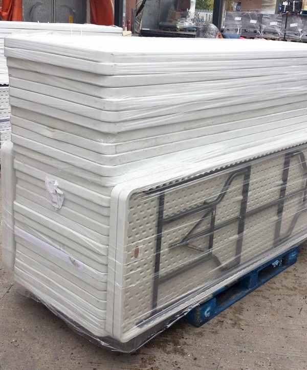 Blow moulded tables for sale
