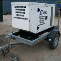 SDMO T16K Fast Tow trailer Generator
